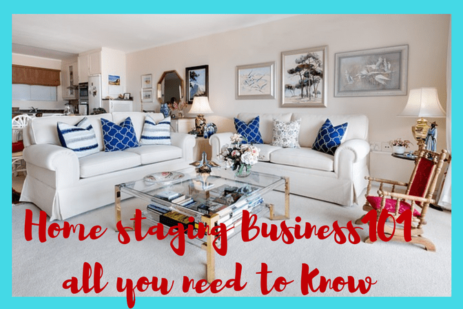 Turn your passion for decorating into a home business. Start a Home staging business today