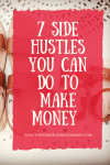 7 side hustle you can do to make money