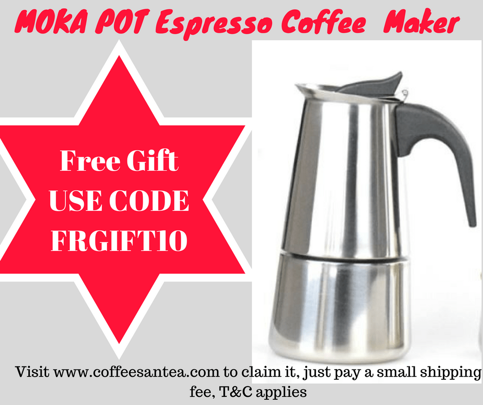 Free Gift, espresso coffee maker