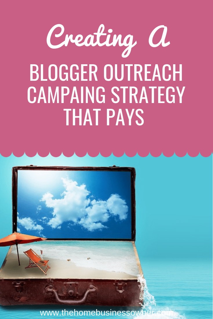 Blogger outreach campaign strategy