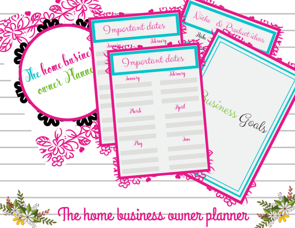 home business ownner Planner