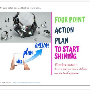 4 point action plan to start shining