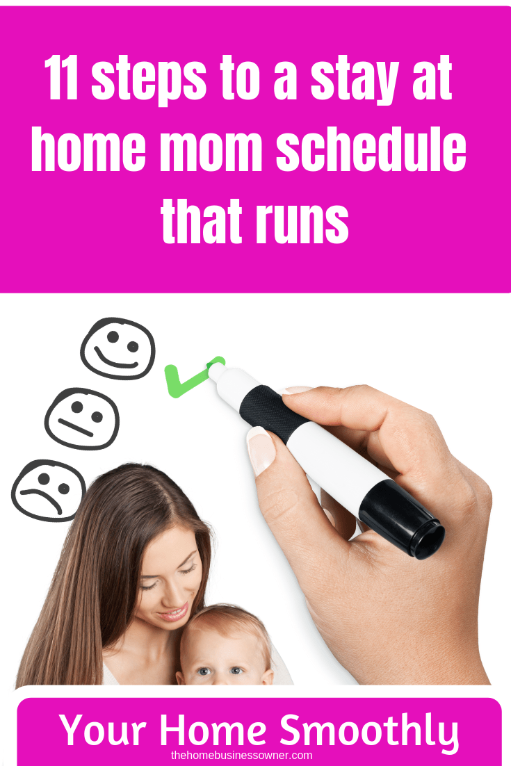 A stay at home mom schedule is alife saver to any mom who wants to bring sanity into her daily family life. Read this post and find out how to create one that actually works.