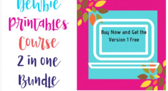 2  In 1 bundle, Newbie Printables Business Course