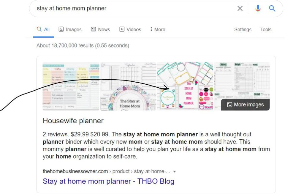 Stay at home planner