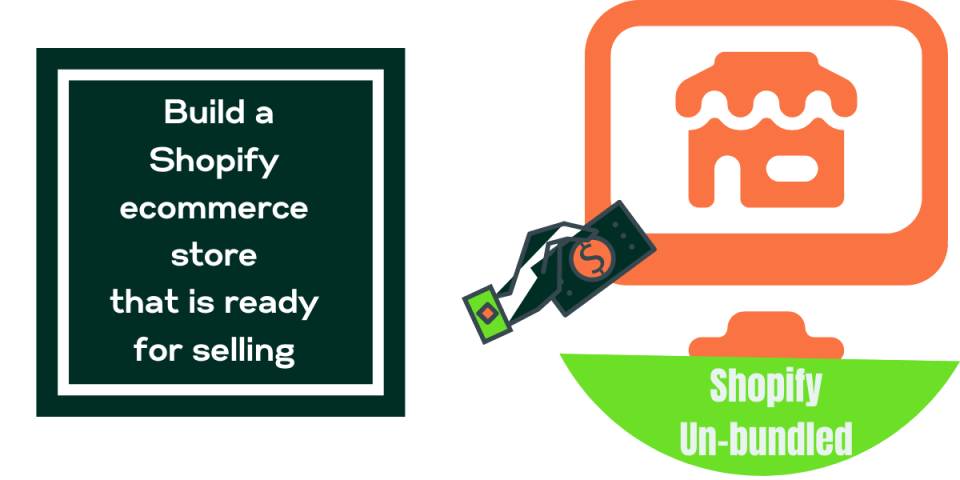 Shopify unbundled course