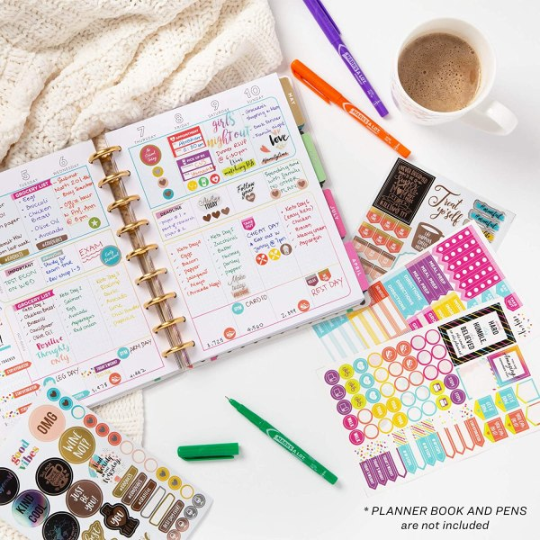 How to set your planner binder