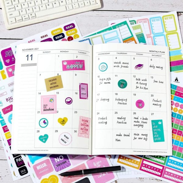 How to set up your planner binder