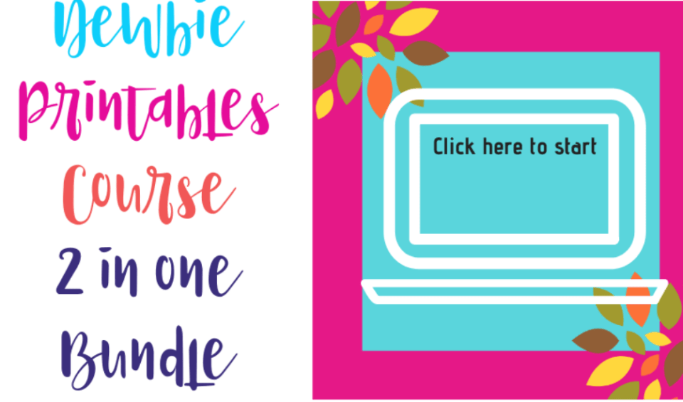 Newbie Printables Business Course2- in-1 Bundle