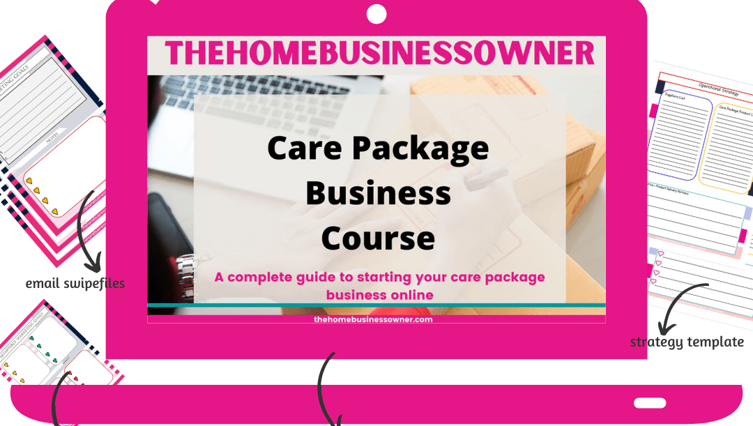 Care Package Business Course