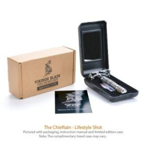 VIKINGS BLADE Chieftain Safety Razor