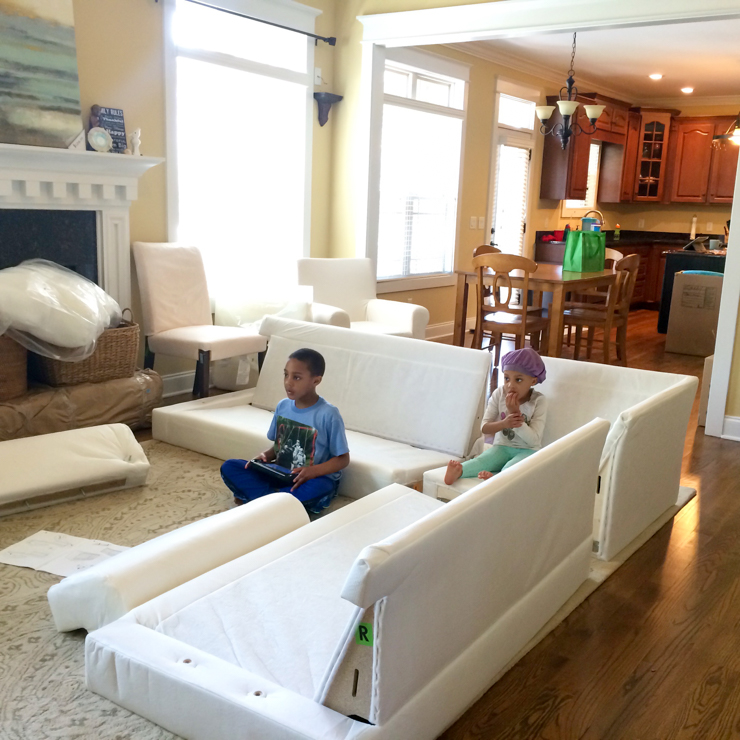 Sectional Couch Decorating Ideas