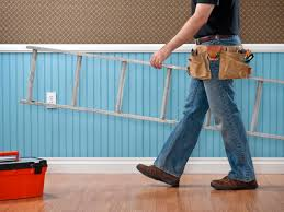 a contractor in a home remodeling project