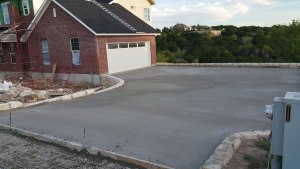 A upgrade of concrete driveway can increase the value of a home