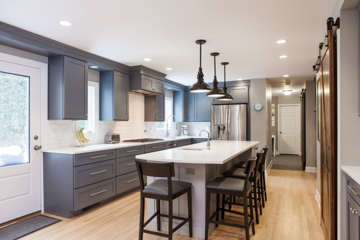 Kitchen Remodel with modern touches
