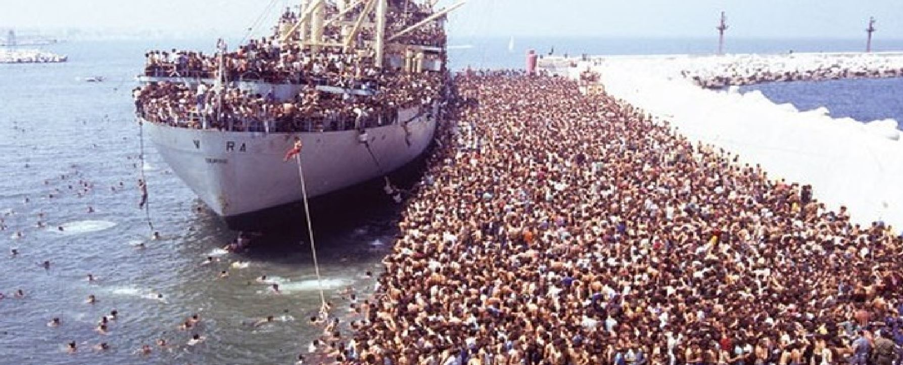 is that ship loaded with syrian refugees no here s why