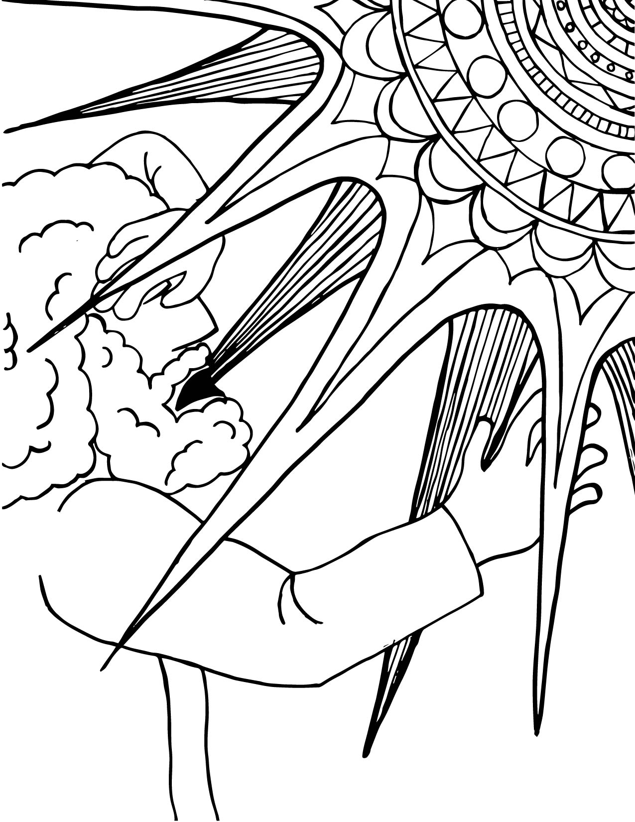 Conversion Of Saint Paul Coloring Page 01