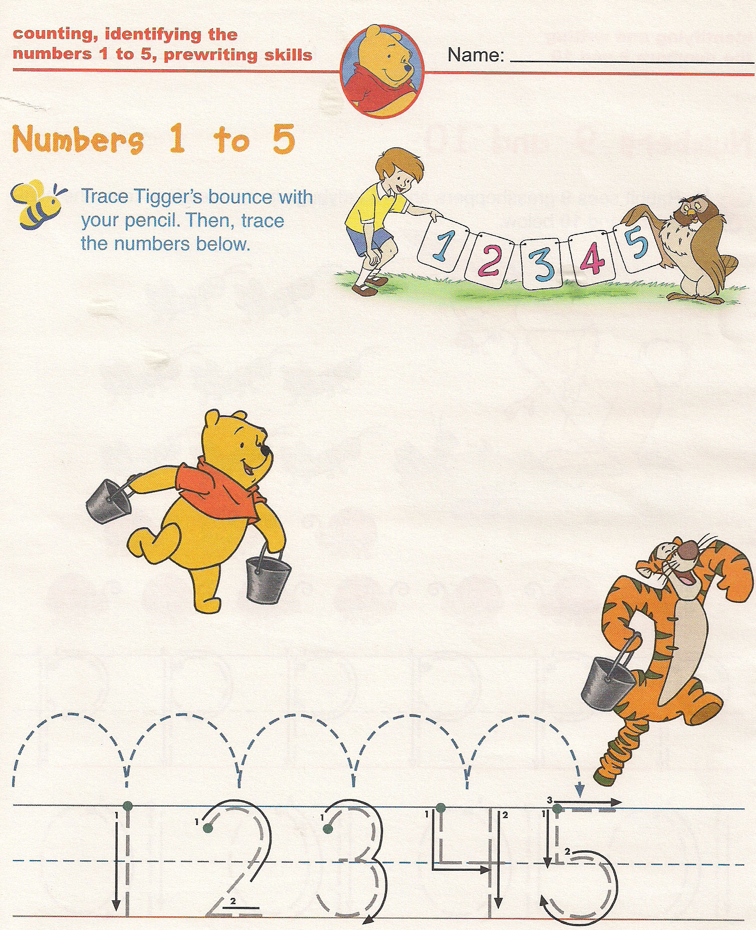 Counting Number Math Worksheets For Kindergarten Kids Free Printable Images