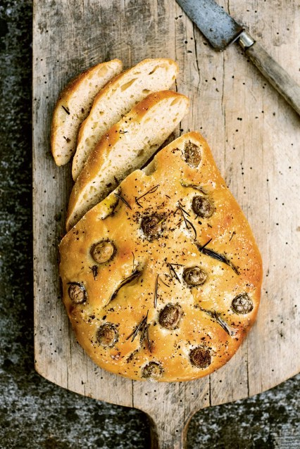 Fougasse recipe from Provence cookbook