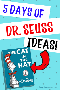 5 Days of EASY and FUN Dr Seuss Projects for elementary ages. Great for Read Across America Week!