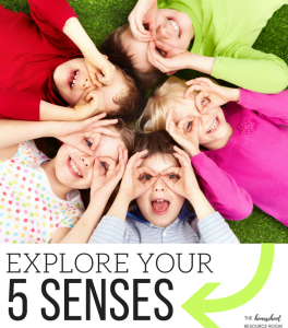 Five Senses activities for kindergarten. Explore your five senses with activities, hands on learning, printable worksheets, and big juicy conversations!