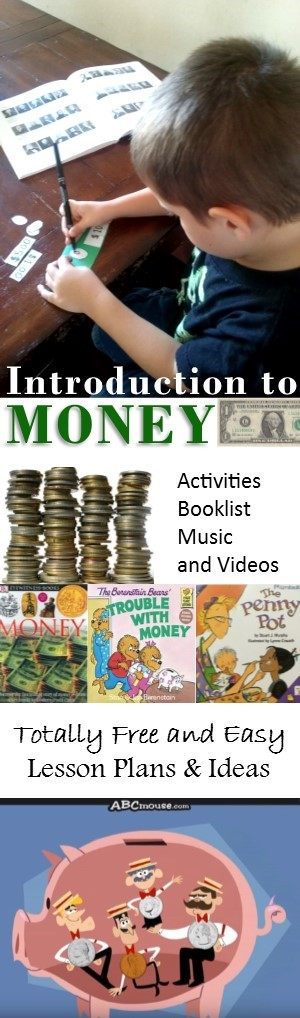 Kindergarten Money Lesson Plans - books, field trips, and money activities to make learning about money fun!