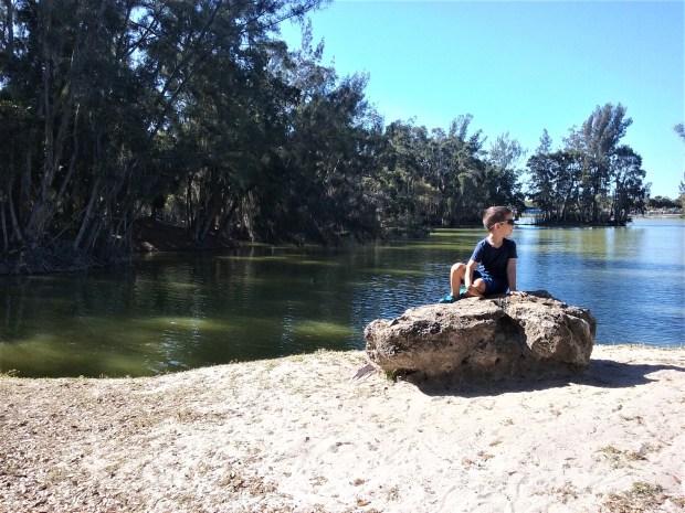 Park by Lake