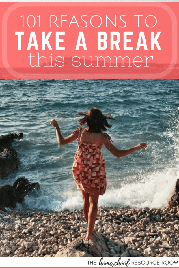 A mom's permission to take a break this summer. Do something just for YOU!
