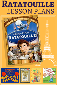 Ratatouille lesson plans for kindergarten.