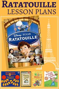Ratatouille lesson plans for kindergarten.