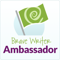 Brave Writer Ambassador Badge