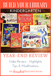 Build Your Library Kindergarten Review