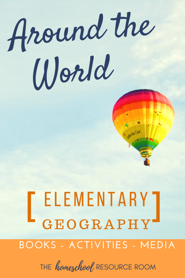 Around the World for Kids! Elementary geography ideas and resources for continent studies!