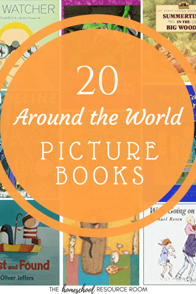 Picture Books Around the World for Kids!