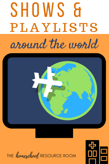 Shows and Playlists around the world for kids! Elementary geography