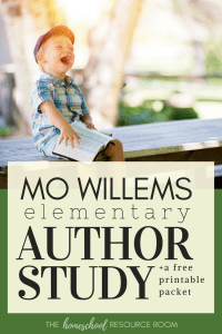 Mo Willems Author Study . These books and activities are appropriate to share in a classroom or for your homeschool! This guide provides book recommendations, reading resources, author links, and project ideas.