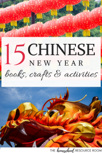 Chinese New Year books, crafts, and activities for elementary to middle grades children. #craftivity #holiday #china #homeschooling #lessonplans #unitstudy