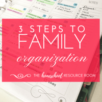 2019 Family Organization Calendar! Get Organized TODAY!