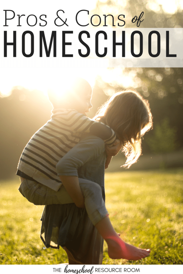 Pros and Cons of Homeschool - Finding what's best for your family and not explaining it to anyone.