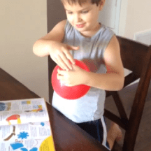 Balloon science experiment