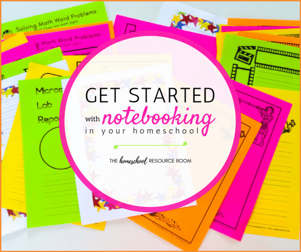How to get started with notebooking in your homeschool.