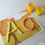 Letter Formation Activities - Play Dough Mats