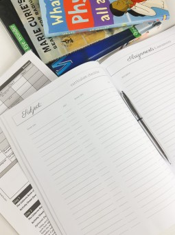 Homeschool Portfolio for record keeping