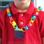 St Patrick's Day Crafts - Necklace