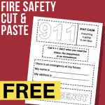 Fire Safety Cut and Paste