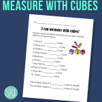Measure with Cubes