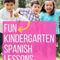 Kindergarten Spanish Lessons - A Gentle Introduction to Foreign Language