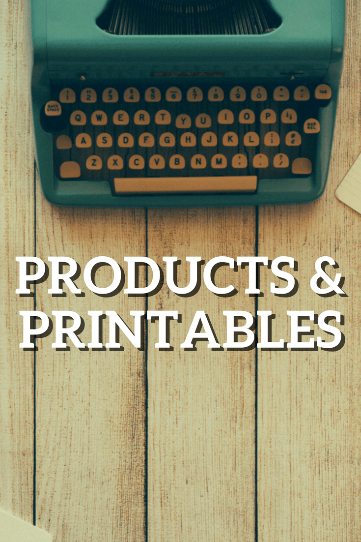 products & printables
