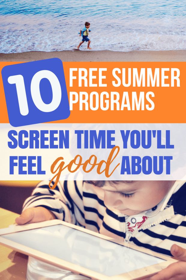 Finally! Summer screen time you can feel GOOD about! Check out these 10 FREE online summer programs for kids. The fun way to summer school with coding, math, grammar, latin and more! Offered for a limited time through Homeschool Buyers Co-op!