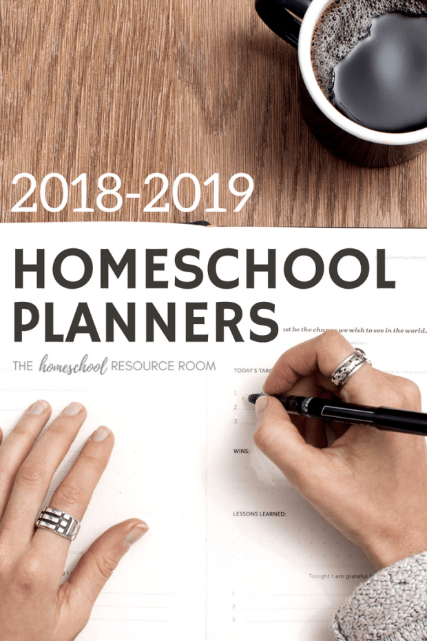 Confused about which homeschool planner you will use for the upcoming year? Take a look at 5 of the most popular homeschool planners available and compare them side-by-side!